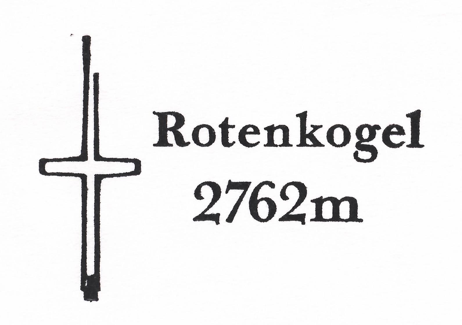 Rotenkogel 2762m