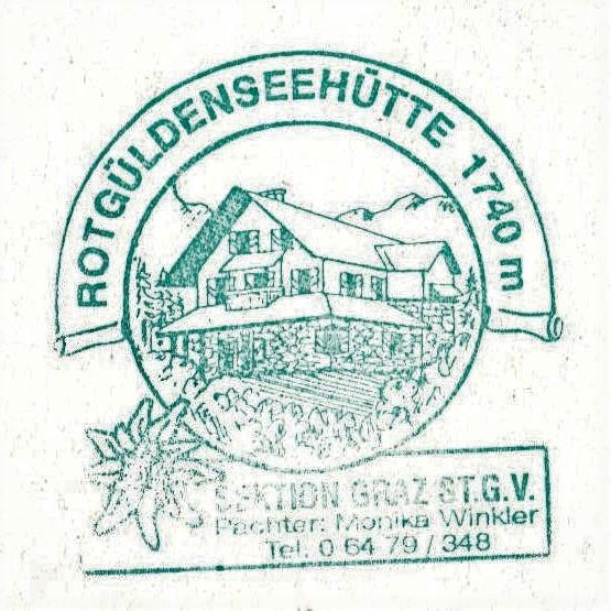 Rotgüldenseehütte 1740m