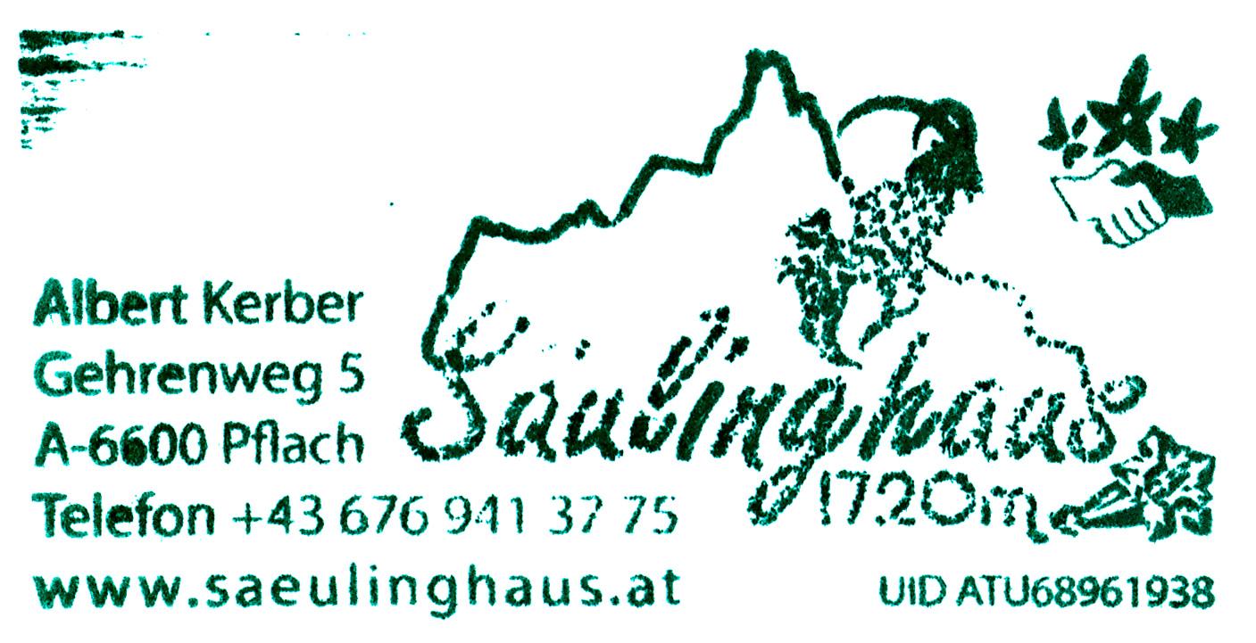 Säulinghaus 1720m