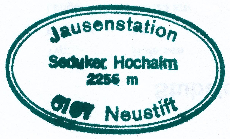 Seducker Hochalm 2256m