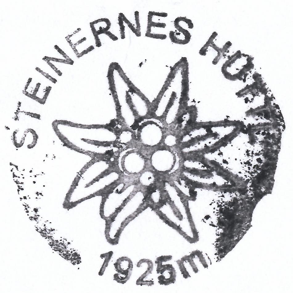 Steinernes Hüttl 1925m