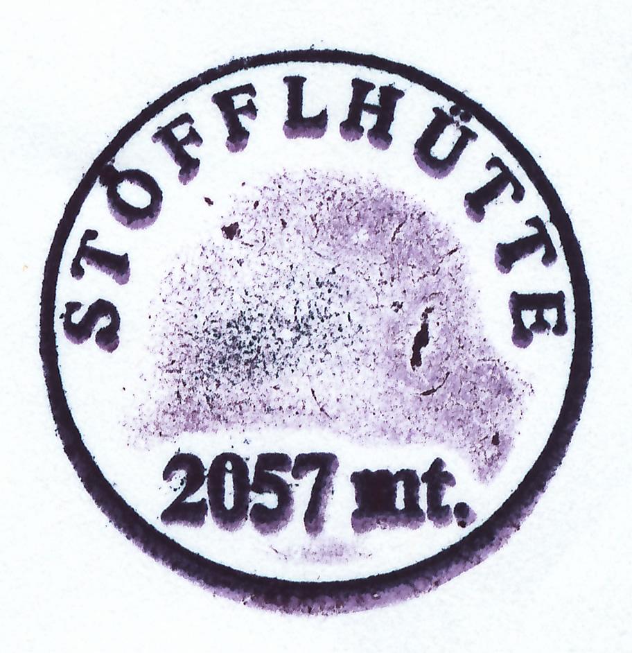 Stöfflhütte 2057m