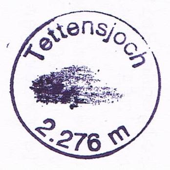 Tettensjoch 2276m