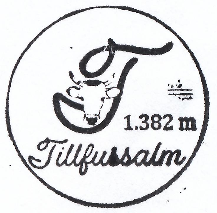 Tillfussalm 1382m