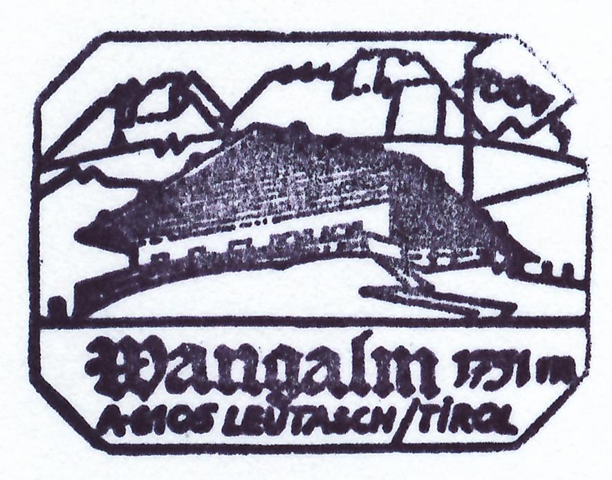 Wangalm 1753m