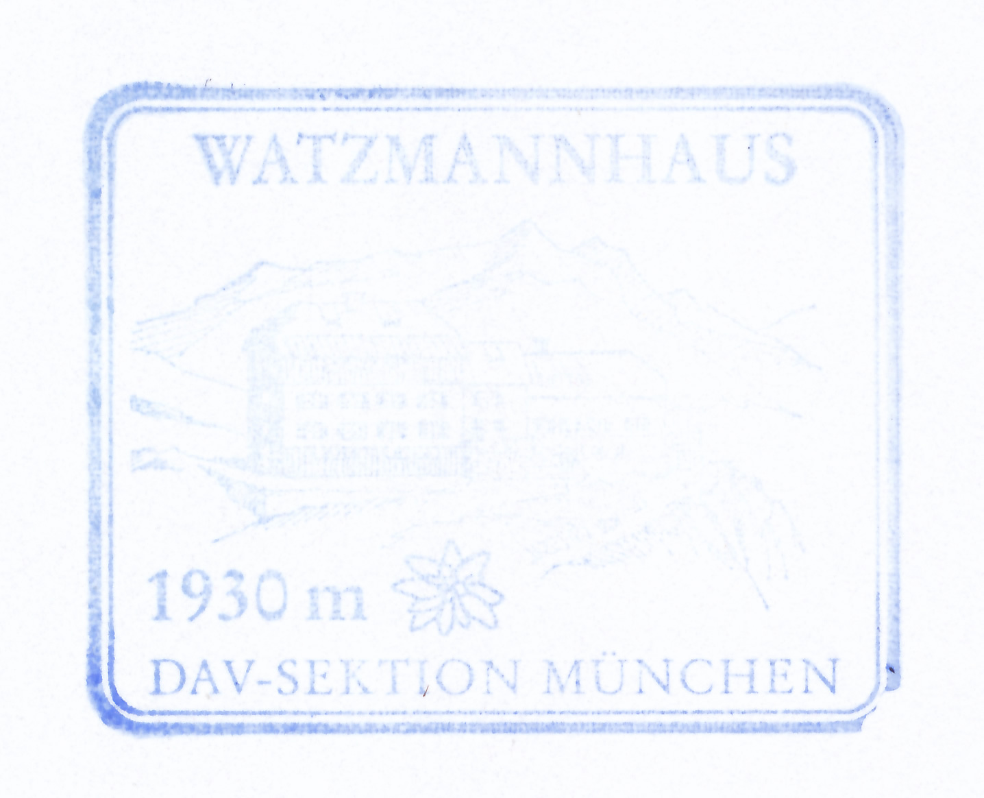 Watzmannhaus 1930m