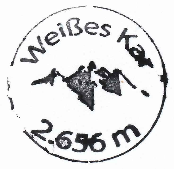 Weißkar 2656m