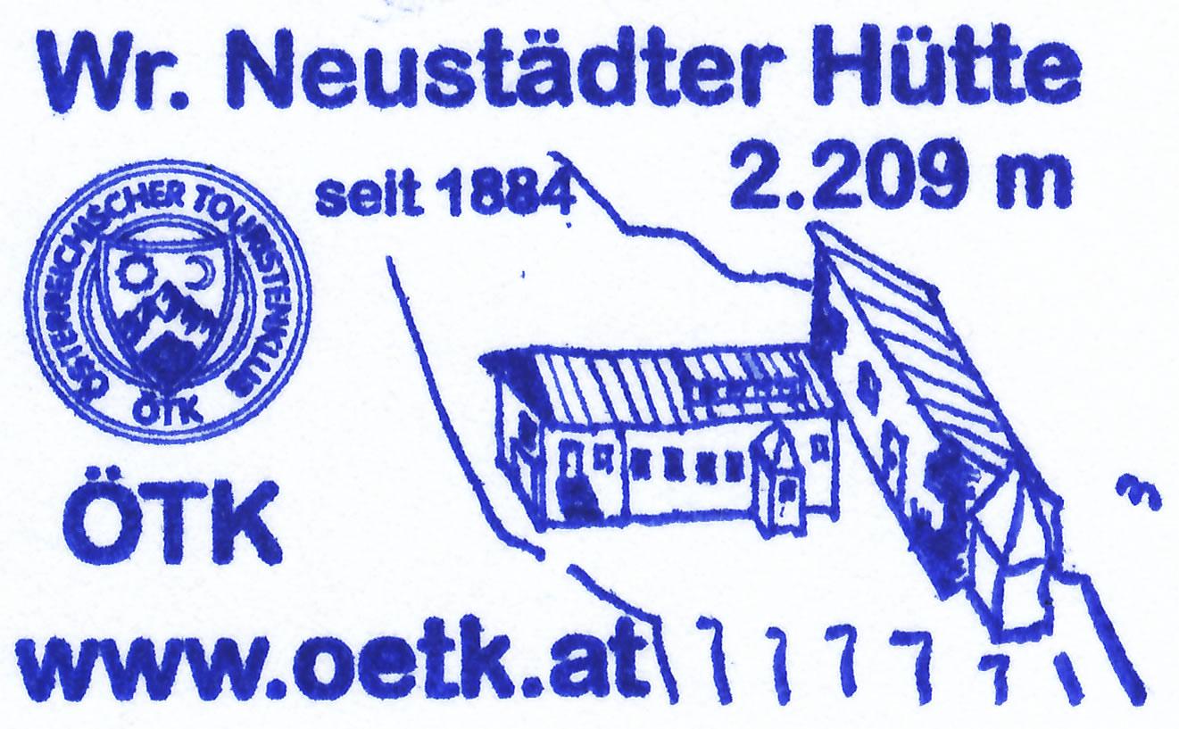 Wiener-Neustädter-Hütte 2213m