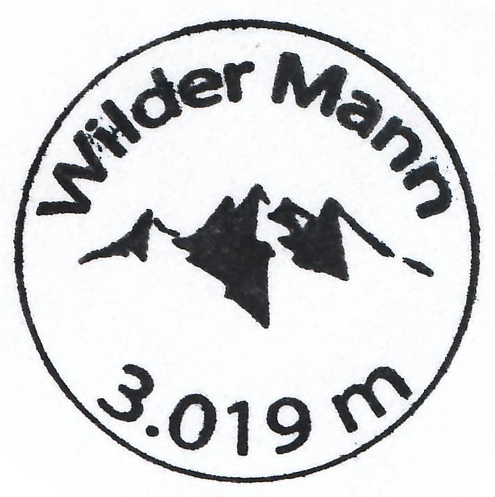 Wildes Mannle 3019m