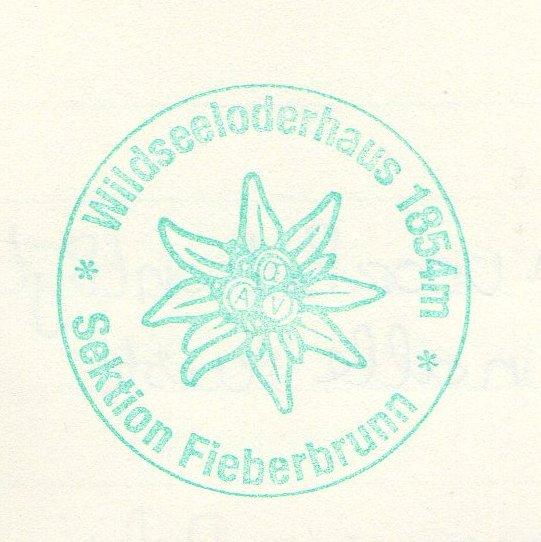 Wildseeloderhaus 1854m