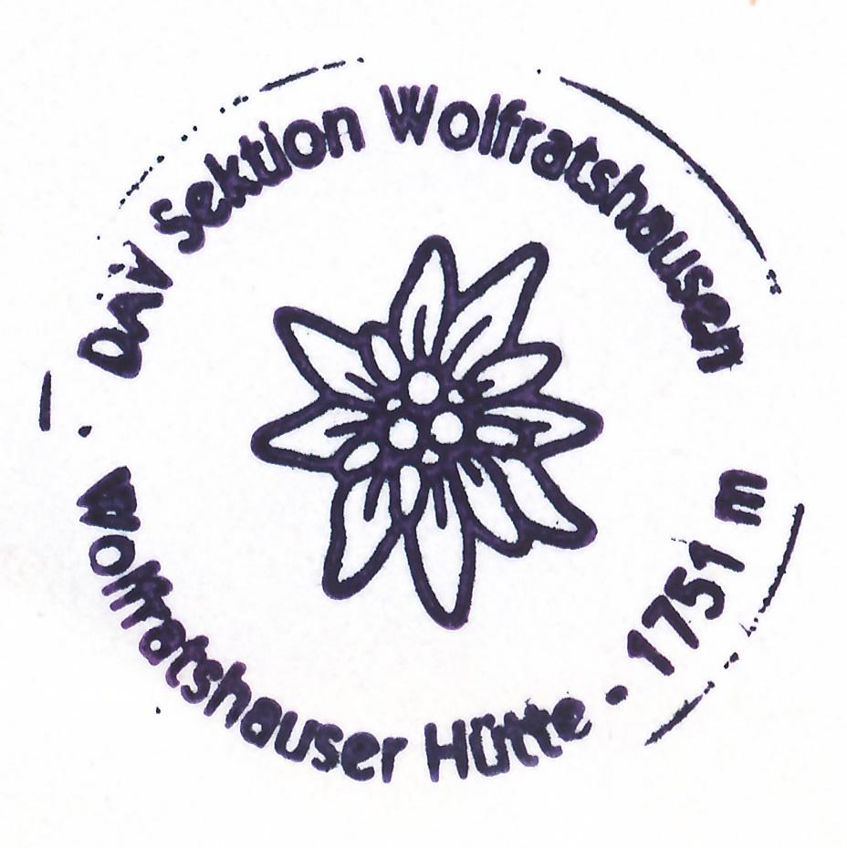 Wolfratshauser Hütte 1753m