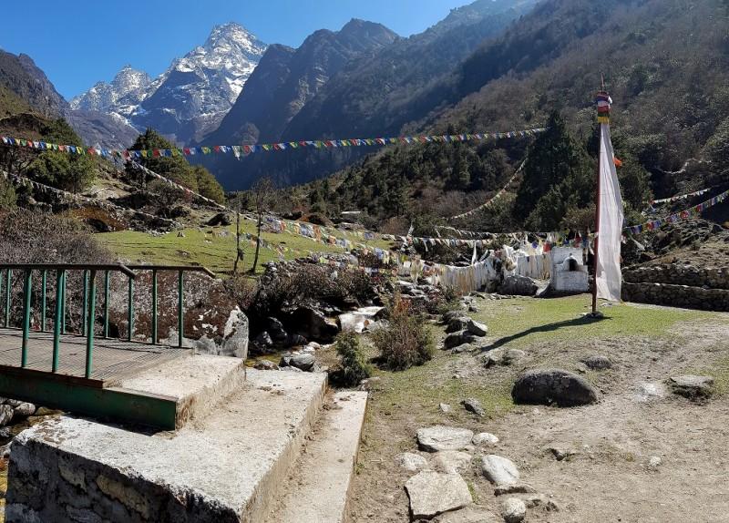 7. Namche Bazar - Thame- Tibetan Monastery