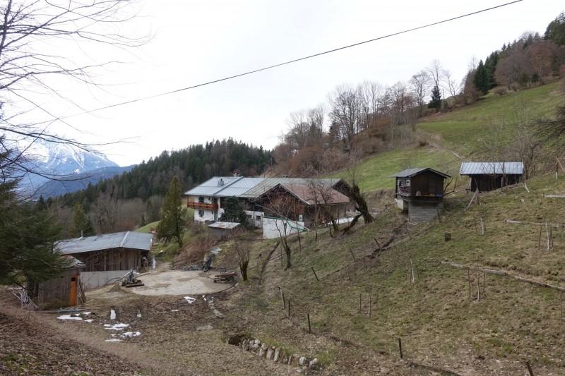 Almbachklamm Parkplatz - Kneifelspitze - Marxenhöhe