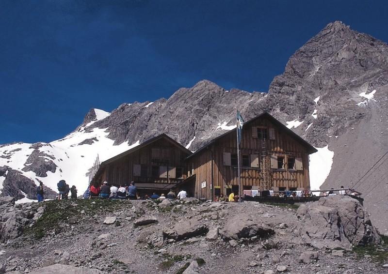 Carschinahütte - Golrosa - Totalphütte