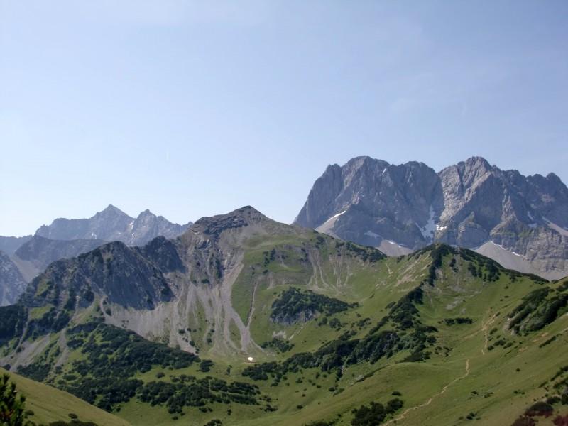 Lamsenjochhütte - Östliches Lamsenjoch - Westliches Lamsenjoch - Hahnkampl - Sonnjoch - Gramaialm Hochleger - Hahnkampl - Westliches Lamsenjoch - Östliches Lamsenjoch - Lamsenjochhütte