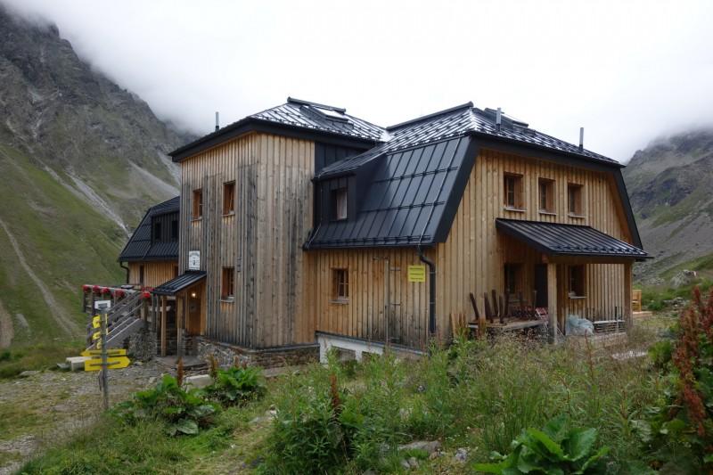 Neue Pforzheimer Hütte - Zischgenscharte - Schöntalspitze - Westfalenhaus