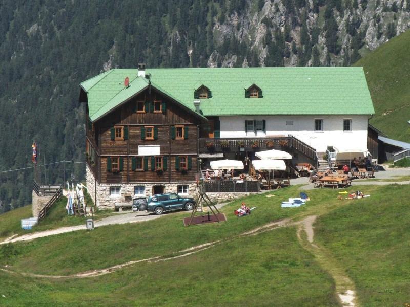 Regensburger Hütte - Schlüterhütte