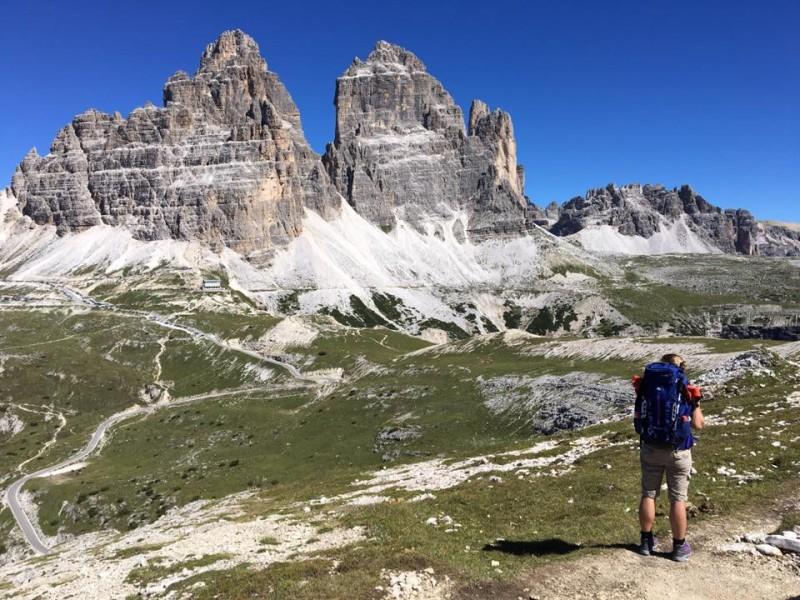 Rifugio Fonda Savio - Rifugio Auronzo - Langalm - Dreizinnenhütte