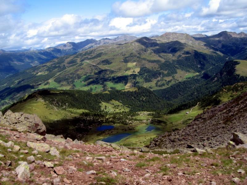 Sarntaler Alpen-B: Rittner-Horn-Haus-Villanderer Berg-Stöfflhütte