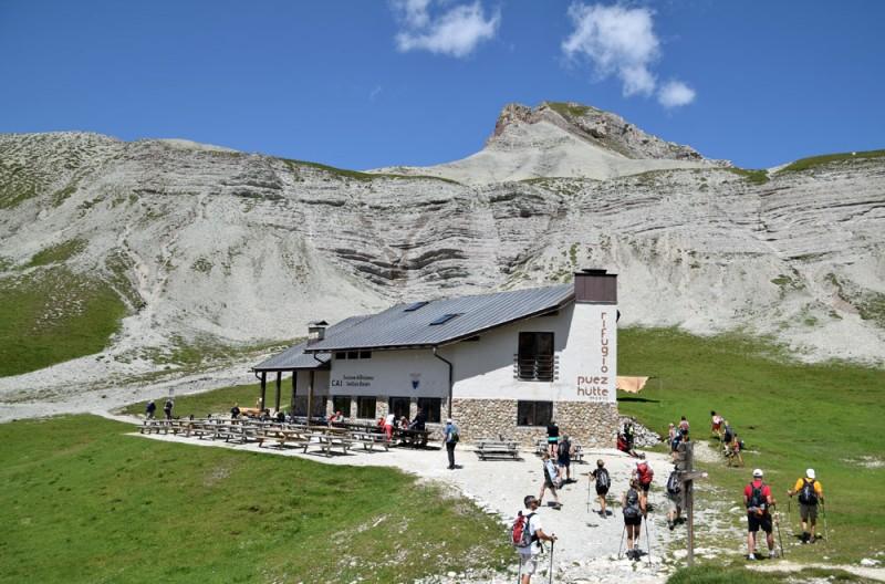 Schlüterhütte - Puezhütte