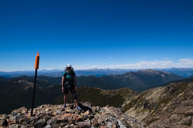 Slaty Hut to Mount Rintoul Hut