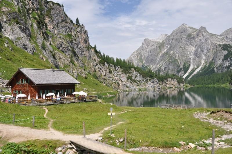 Tappenkarseehütte - Tappenkarsee Alm - Tappenkarseehütte