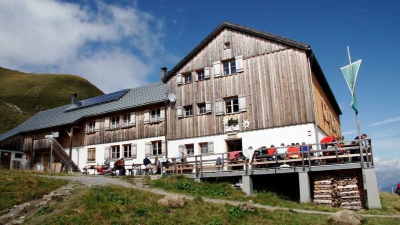 Tilisunahütte - Lindauer Hütte