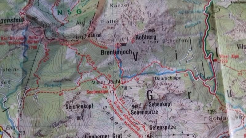 Vilser Alpe - Bad Kissinger Hütte