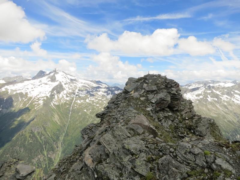 Wolliggerhütte - Auernig - Maresenspitz - Auernig - Wolliggerhütte