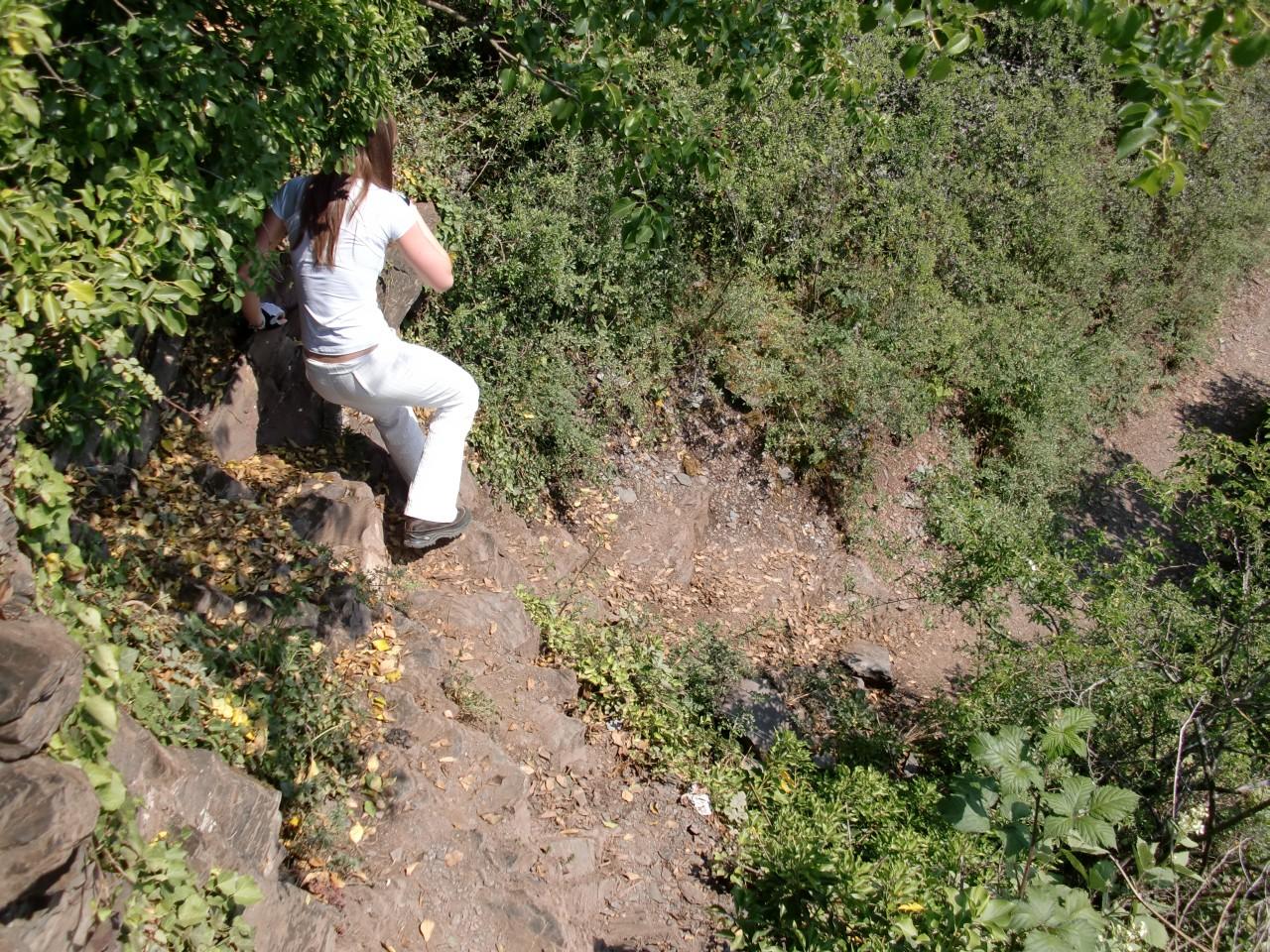 Klettersteig Calmont : Calmont klettersteig und höhenweg wandern
