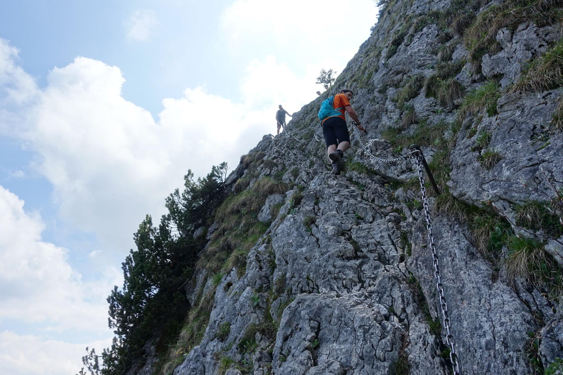 Ettaler Mandl Klettersteig : Laberjochhaus ettaler manndl solialm klettersteig