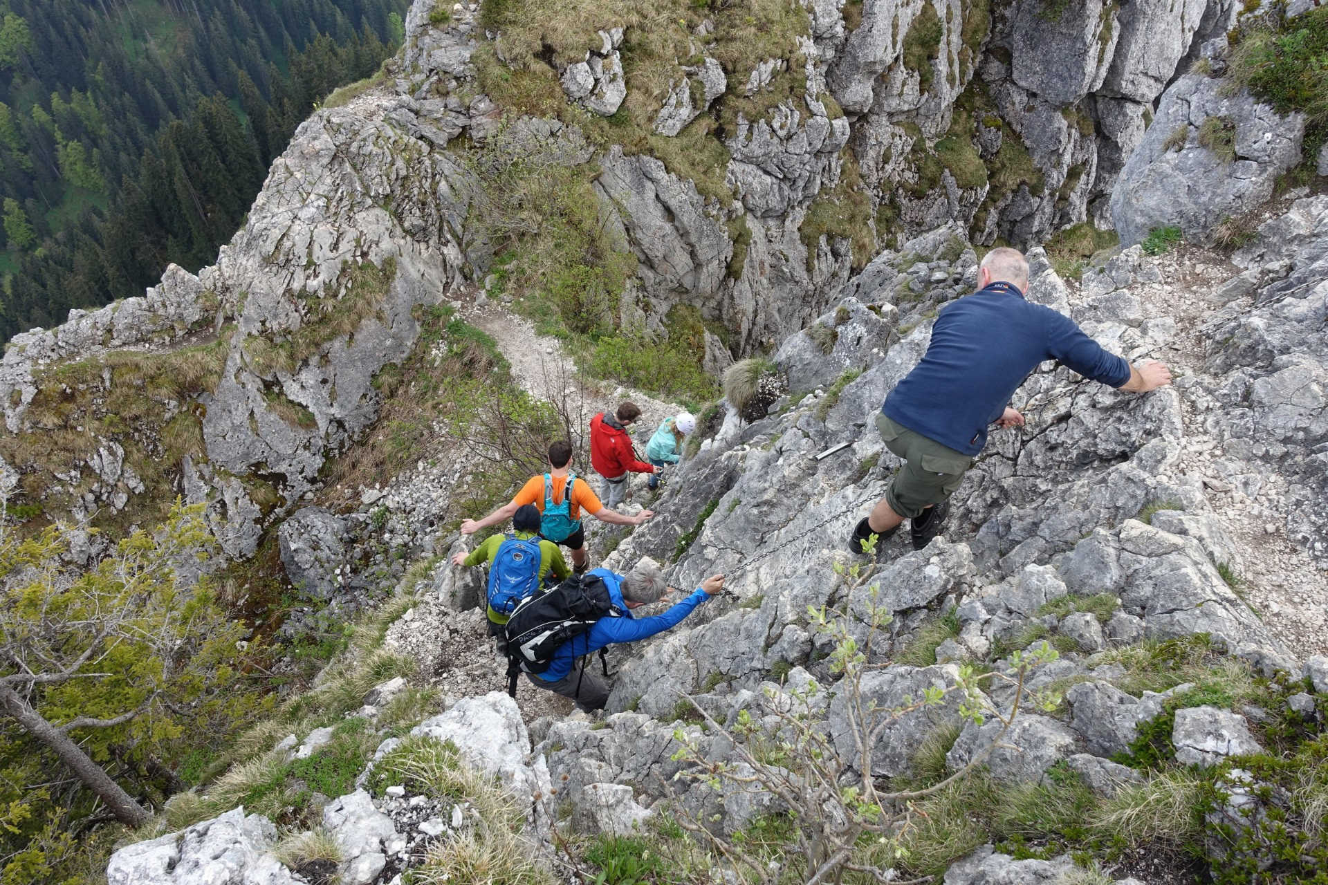 Klettersteig Am Ettaler Mandl : Laberjochhaus ettaler manndl solialm klettersteig