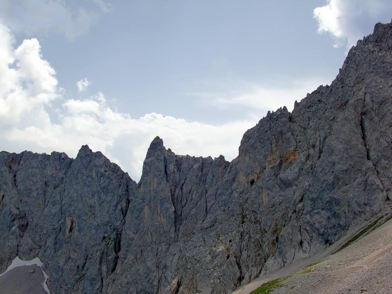 Klettersteig Lamsenspitze : Lamsenspitze wandern