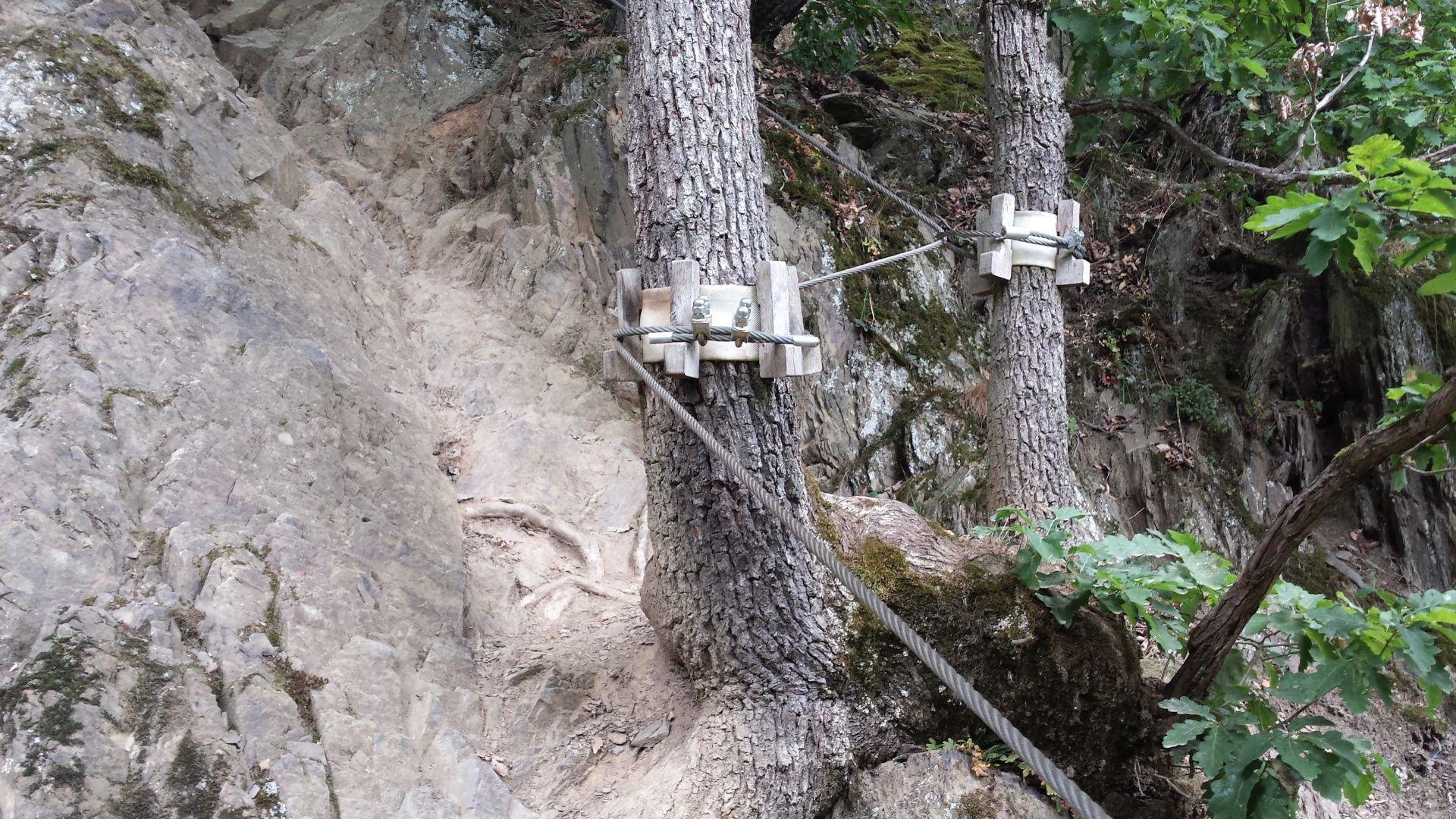 Klettersteig Rheinsteig Boppard : Mittelrhein klettersteig boppard « freiluft