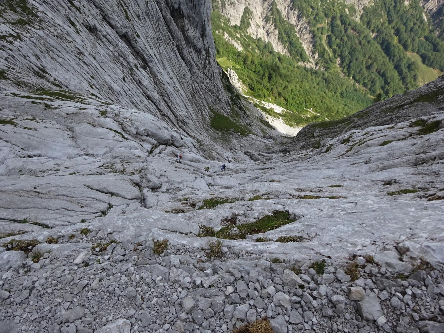Klettersteig Ellmauer Halt : Ellmauer halt gamsängersteig kaiser bergtour Österreich