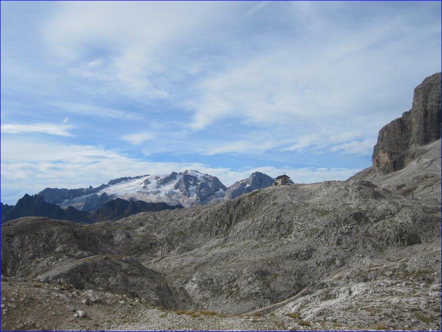 Vallon Klettersteig : Bramosia scurau c vallonspitze nordwand corvara alpenverein